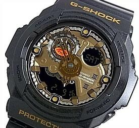 CASIO/G-SHOCK【カシオ/Gショック】アナデジ メンズ腕時計 ブラック 海外モデル【並行輸入品】 GA-300A-1A
