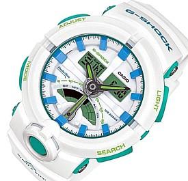 CASIO/G-SHOCK【カシオ/Gショック】アナデジモデル メンズ腕時計 スポーティミックス ホワイト(国内正規品)GA-500WG-7AJF