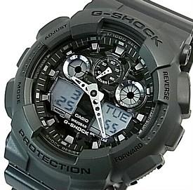 CASIO/G-SHOCK【カシオ/Gショック】Camouflage Dial Series/カモフラージュダイアルシリーズ メンズ腕時計 グレー 海外モデル【並行輸入品】GA-100CF-8A