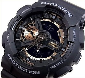 CASIO/G-SHOCK【カシオ/Gショック】Rose Gold Series/ローズゴールドシリーズ アナデジ メンズ腕時計 海外モデル【並行輸入品】 GA-110RG-1A