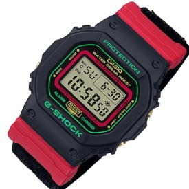 CASIO/G-SHOCK【カシオ/Gショック】メンズ腕時計 スペシャル復刻モデル クロスバンド 海外モデル【並行輸入品】DW-5600THC-1