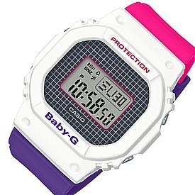 CASIO/Baby-G【カシオ/ベビーG】レディース腕時計 パープル・ピンク・ホワイト 海外モデル【並行輸入品】BGD-560THB-7
