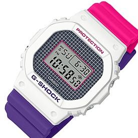 CASIO/G-SHOCK【カシオ/Gショック】メンズ腕時計 パープル・ピンク・ホワイト(国内正規品)DW-5600THB-7JF