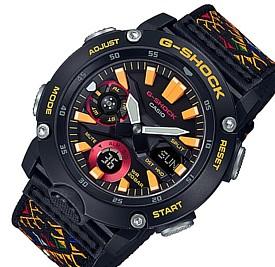 CASIO/G-SHOCK【カシオ/Gショック】カーボンコアガード構造 アナデジモデル メンズ腕時計 クロスバンド 樹脂替えバンド付(国内正規品)GA-2000BT-1AJR