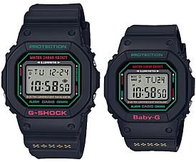 CASIO/G-SHOCK/Baby-G【カシオ/Gショック/ベビーG】Gプレゼンツラバーズコレクション2019 ペアウォッチ 腕時計 ブラック(国内正規品)LOV-19B-1JR