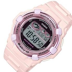 CASIO/Baby-G【カシオ/ベビーG】チェリーブロッサム・カラーズ ソーラー電波腕時計 レディース ピンク(国内正規品)BGR-3000CB-4JF
