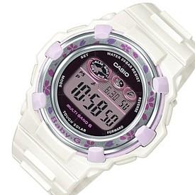 CASIO/Baby-G【カシオ/ベビーG】チェリーブロッサム・カラーズ ソーラー電波腕時計 レディース ホワイト(国内正規品)BGR-3000CBP-7JF