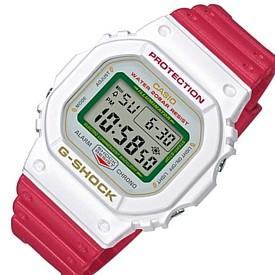 CASIO/G-SHOCK【カシオ/Gショック】メンズ腕時計 招き猫シリーズ ホワイト/レッド(国内正規品)DW-5600TMN-7JR