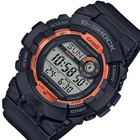 CASIO/G-SHOCK【カシオ/Gショック】G-SQUAD/ジー・スクワット ファイアー・パッケージ ブルートゥース モバイルリンクモデル メンズ腕時計 ブラック/オレンジ(国内正規品)GBD-800SF-1JR
