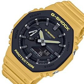 CASIO/G-SHOCK【カシオ/Gショック】カーボンコアガード構造 アナデジモデル メンズ腕時計 イエロー(国内正規品)GA-2110SU-9AJF