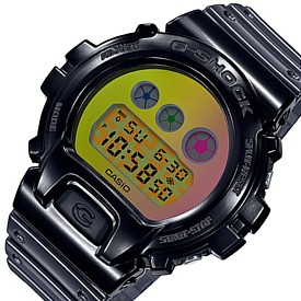 "CASIO/G-SHOCK【カシオ/Gショック】""DW-6900""生誕25周年記念スペシャルモデル メンズ腕時計(国内正規品)DW-6900SP-1JR"