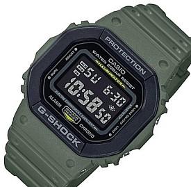 CASIO/G-SHOCK【カシオ/Gショック】メンズ腕時計 ユーティリティカラー グリーン/ブラック (国内正規品)DW-5610SU-3JF