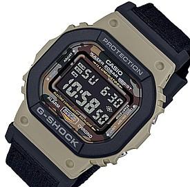 CASIO/G-SHOCK【カシオ/Gショック】メンズ腕時計 ユーティリティカラー ブラウン/ブラック 替えベルト付 (国内正規品)DW-5610SUS-5JR