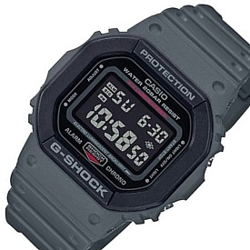 CASIO/G-SHOCK【カシオ/Gショック】メンズ腕時計 ユーティリティカラー グレー/ブラック (国内正規品)DW-5610SU-8JF