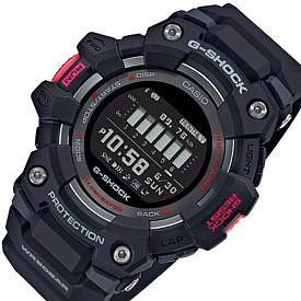 CASIO/G-SHOCK【カシオ/Gショック】G-SQUAD/ジー・スクワット ブルートゥース モバイルリンクモデル メンズ腕時計 ブラック 海外モデル【並行輸入品】GBD-100-1