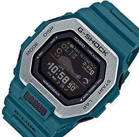 CASIO/G-SHOCK/G-LIDE【カシオ/Gショック/Gライド】スマフォ リンク モデル メンズ腕時計 ブルーグリーン 海外モデル【並行輸入品】GBX-100-2