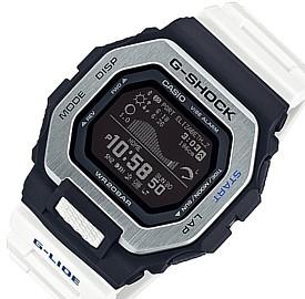 CASIO/G-SHOCK/G-LIDE【カシオ/Gショック/Gライド】スマフォ リンク モデル メンズ腕時計 ホワイト/ブラック 海外モデル【並行輸入品】GBX-100-7