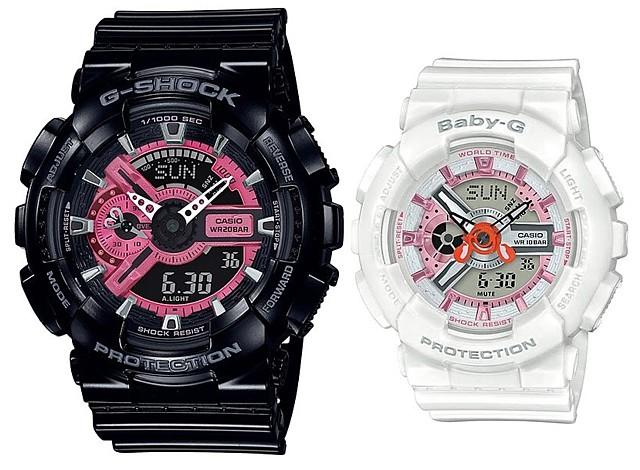CASIO/G-SHOCK/Baby-G【カシオ/Gショック/ベビーG】ペアウォッチ アナデジ 腕時計 海外モデル【並行輸入品】SLV-19A-1A