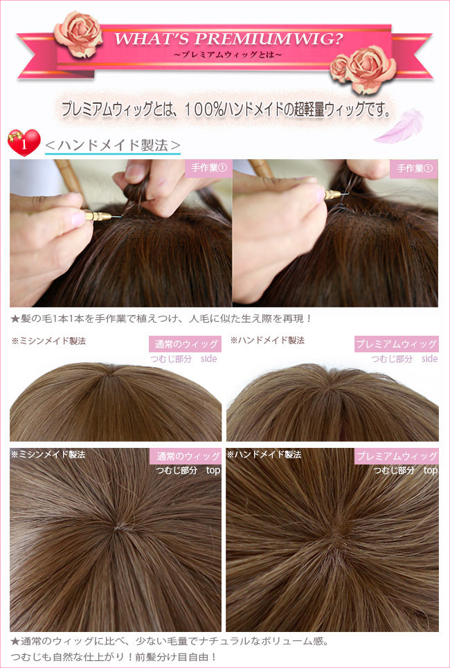 Medical wig wig WIG extensions or full wig wigs, hand tied wigs human hair extensions and hair Bob short gradient mesh cosplay ponytail wedding p-d 001 m