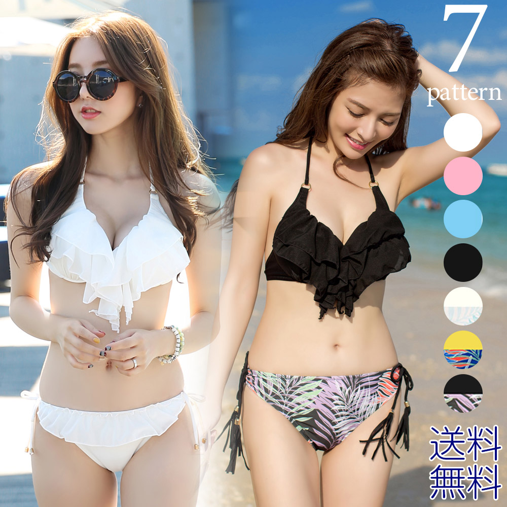 6fab766b6c The mom swimsuit high waist sexy adult floral design ボタニカルバンドゥ black off  shoulder beach swimsuit which has a cute ...