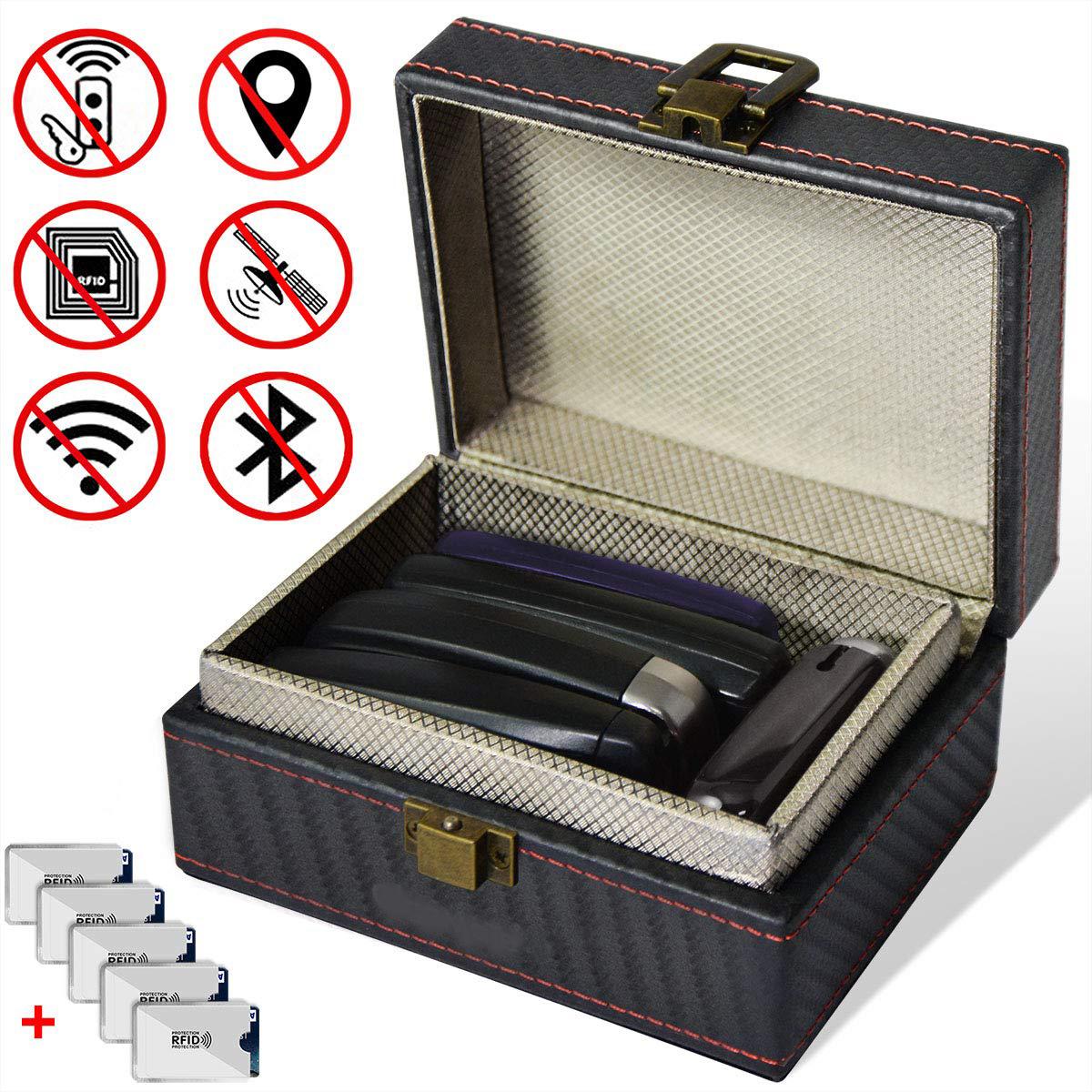 電波 電波遮断 キーケース スマートキー 盗難防止 リレーアタック 自動車 自動車盗難 ケース 盗難 小物入れ BS-RRATBOX-BK 引出物 車両盗難 宅配便送料無料 送料無料 電波遮断スマートキーケース