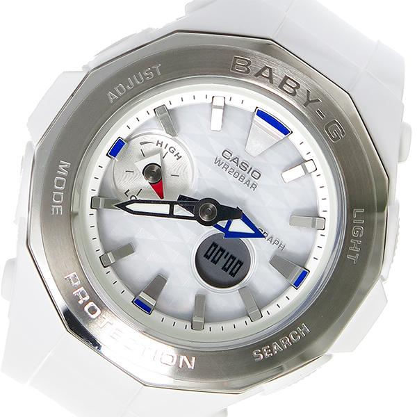 カシオ CASIO ベビーG BABY-G クオーツ レディース 腕時計 BGA-225-7A ホワイト