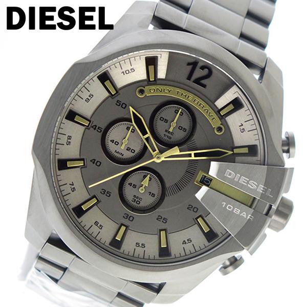 ディーゼル DIESEL クオーツ クロノ メンズ 腕時計 DZ4466 グレー