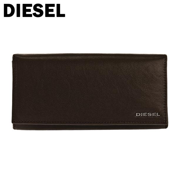 ディーゼル DIESEL メンズ 長財布 X04457-PR227-H6385 ブラウン
