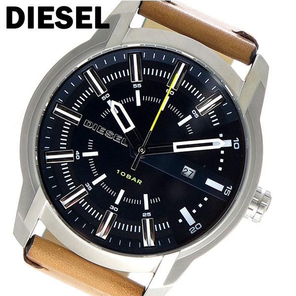 ディーゼル DIESEL アームバー ARMBAR クオーツ メンズ 腕時計 DZ1847 ネイビー