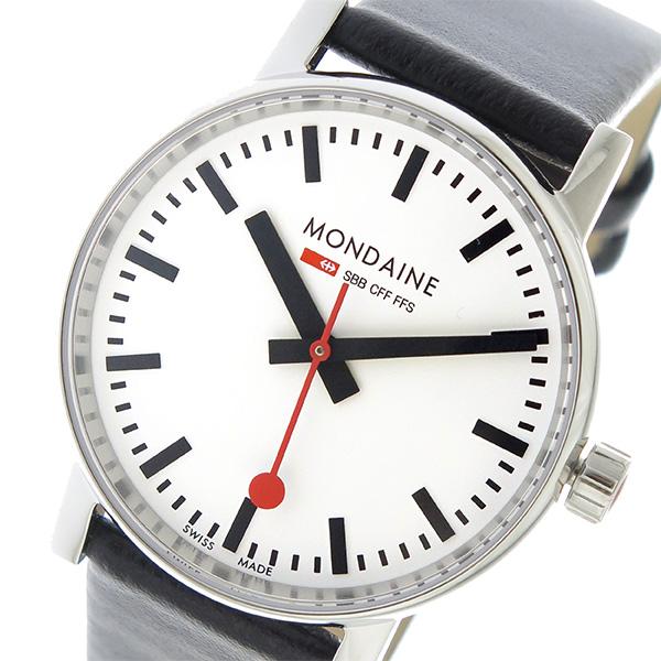 モンディーン MONDAINE エヴォ2 クオーツ レディース 腕時計 MSE.35110.LB ホワイト