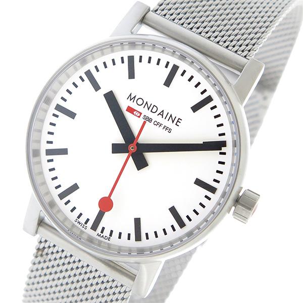 11/1までエントリーで全品P20倍 モンディーン MONDAINE エヴォ2 クオーツ レディース 腕時計 MSE.35110.SM ホワイト