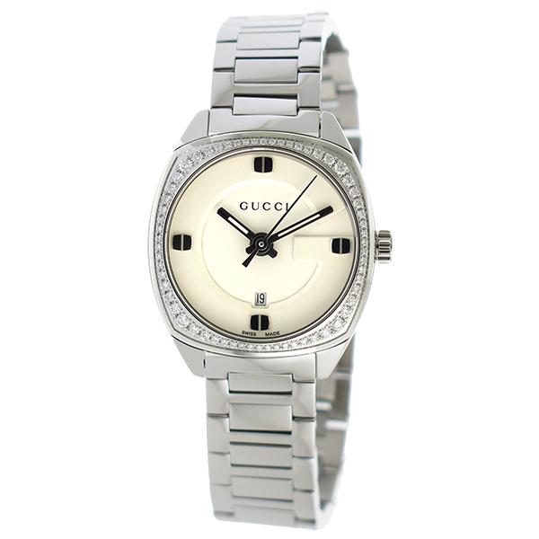 グッチ GUCCI GG2570 クオーツ メンズ 腕時計 YA142506 ホワイト