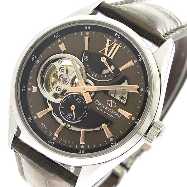 オリエントスター ORIENT STAR ORIENT ブラウン 腕時計 メンズ RK-AV0008Y STAR ブラウン, ミシン屋さん:5406564b --- sunward.msk.ru
