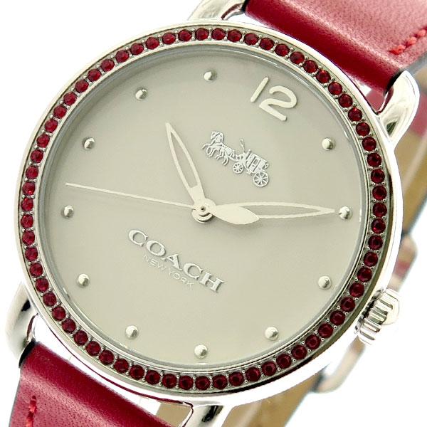コーチ COACH 腕時計 レディース 14502878 オフホワイト レッド