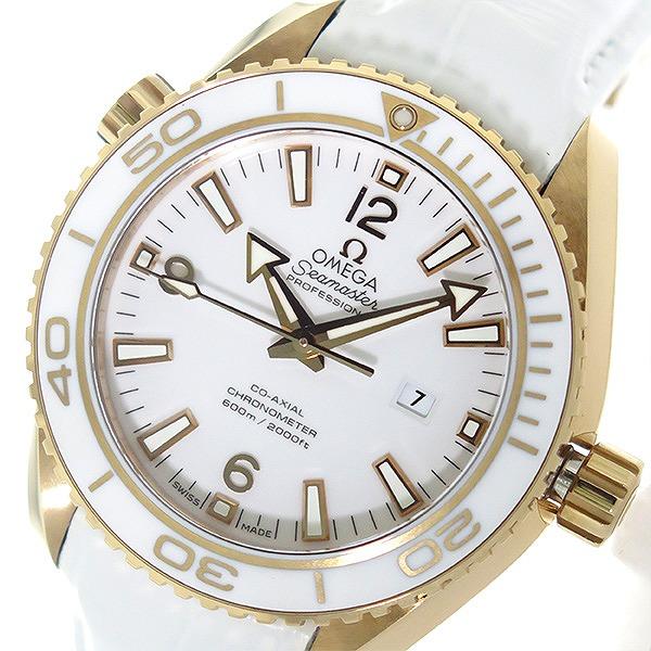 11/1までエントリーで全品P20倍 オメガ OMEGA シーマスター 自動巻き レディース 腕時計 232.63.38.20.04.001 ホワイト/ホワイト