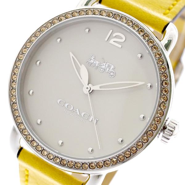 コーチ COACH 腕時計 レディース 14502882 オフホワイト イエロー