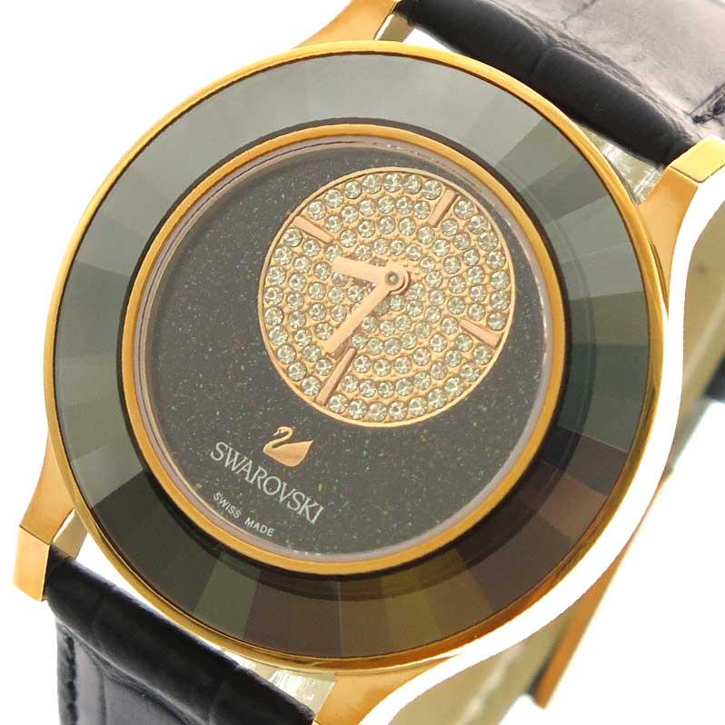 スワロフスキー SWAROVSKI 腕時計 腕時計 SWAROVSKI ブラック レディース 5095484 ブラックラメ ブラック, FDC:ace65c9a --- knbufm.com