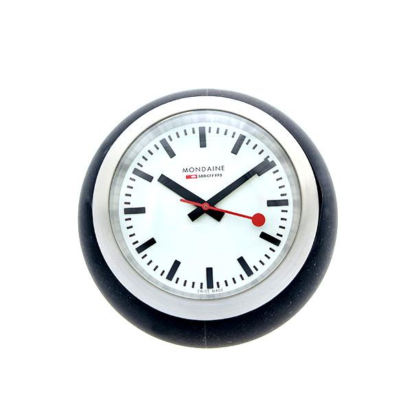 モンディーン MONDAINE 置き時計 A660.30335.16SBB ブラック