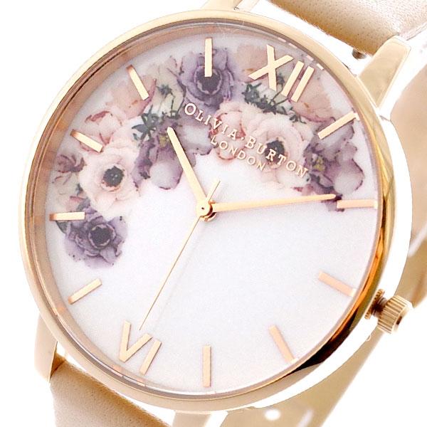オリビアバートン OLIVIA BURTON 腕時計 レディース OB16PP30 クォーツ マルチカラー ピンクベージュ マルチカラー