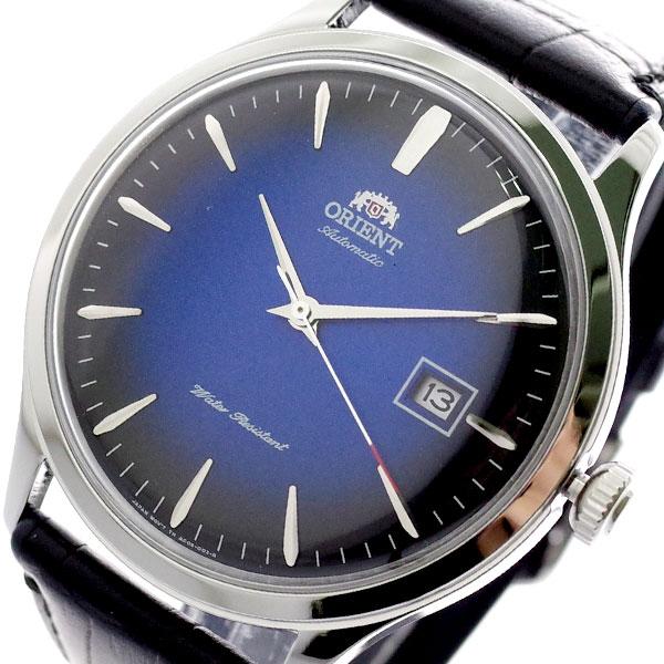 オリエント ORIENT 腕時計 メンズ FAC08004D0 ブルー ブラック