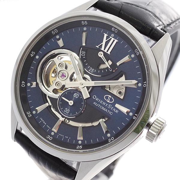 オリエントスター ブラック ORIENT STAR 腕時計 メンズ メンズ RK-AV0006L RK-AV0006L ネイビー ブラック, タカサトムラ:ce20aa73 --- knbufm.com