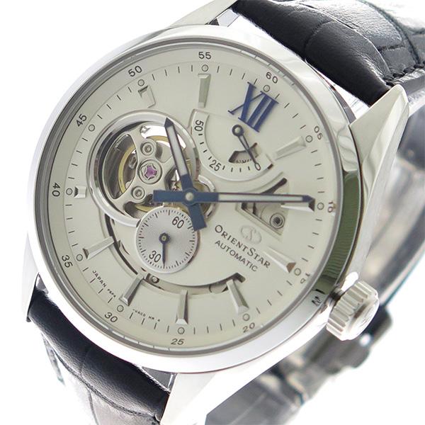 オリエントスター ORIENT STAR 腕時計 メンズ RK-AV0007S オフホワイト ブラック