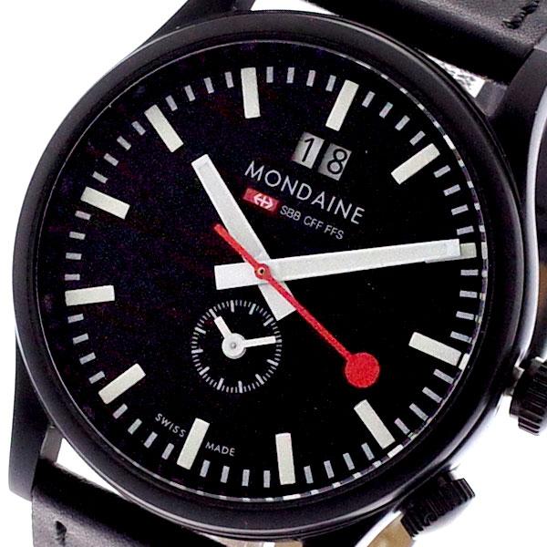 モンディーン MONDAINE 腕時計 メンズ モンディーン メンズ A687-30308-64SBB 腕時計 ブラック, ミッドフィルダー:1d25161f --- sunward.msk.ru