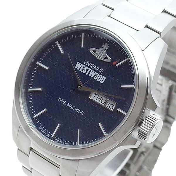 ヴィヴィアンウエストウッド VIVIENNE WESTWOOD? 腕時計 メンズ VV063NVSL クォーツ ネイビー シルバー