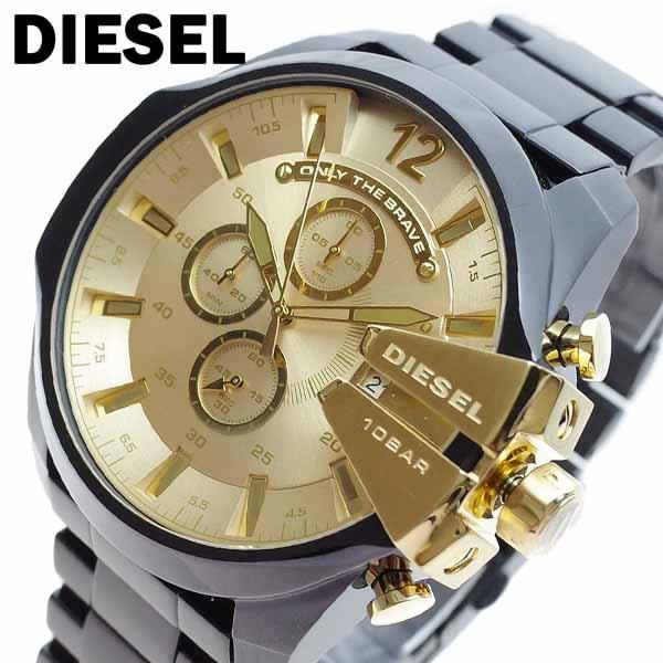 ディーゼル DIESEL 腕時計 メンズ DZ4485 クォーツ ゴールド ブラック