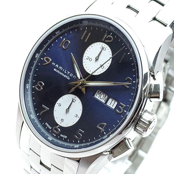 ハミルトン HAMILTON 腕時計 メンズ H32576141 ジャズマスターマエストロ 自動巻き ネイビー シルバー