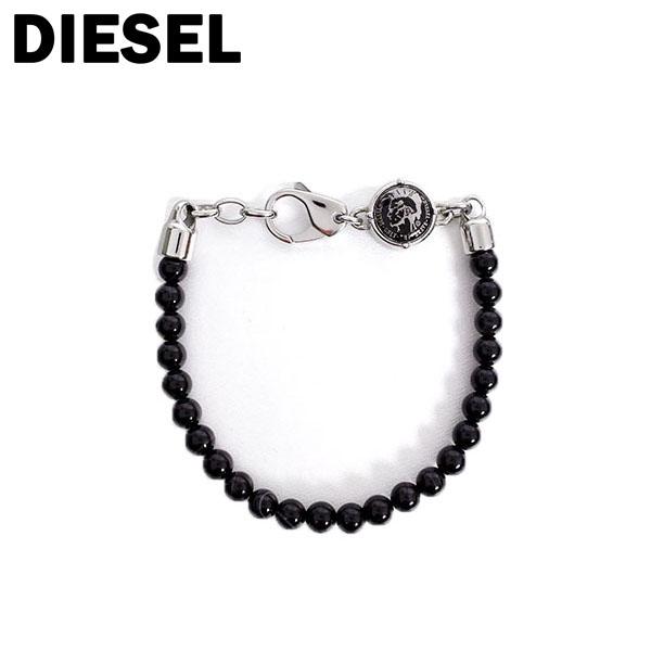 ディーゼル DIESEL ブレスレット メンズ DX0848040 ブラック シルバー