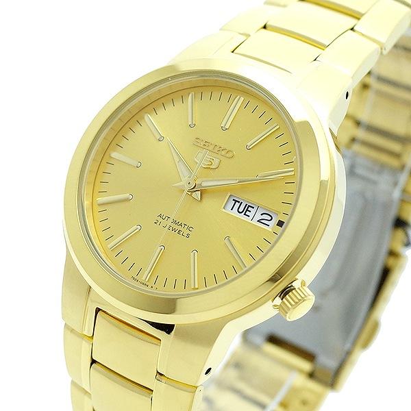 セイコー SEIKO 腕時計 メンズ SNKA10K1 SEIKO5 自動巻き ゴールド