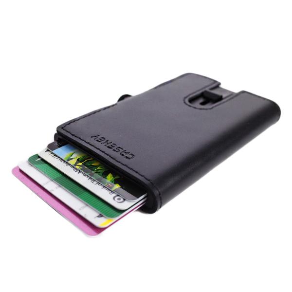 鈴堂 りんどう カードケース スマートウォレット メンズ FD05PG-BK CASAKEY ブラック