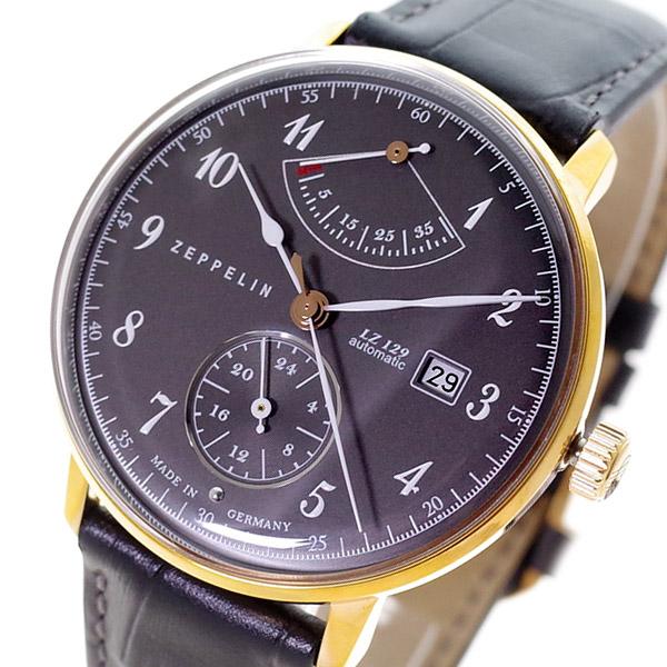 ツェッペリン ZEPPELIN 腕時計 メンズ 7064-2 Hindenburg 自動巻き ブラック